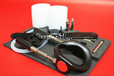 HYBRID Penis EXTENDER Extension ENLARGEMENT 6 Rods Silicone Tube Strap 8.5 in BB