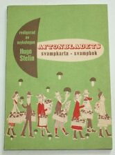 AFTONBLADETS FIELD GUIDE FOR MUSHROOMS - Sweden 1950
