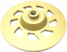 """7"""" COMMERCIAL FLOOR COATING REMOVAL STONE GRINDING DIAMOND CUP WHEEL 5/8-11-BEST"""