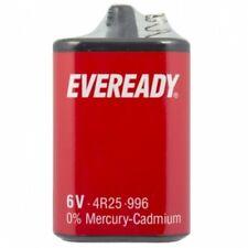 EVEREADY 4R25 6V Battery 6 Volt 996 PJ996 430 908 908S Lantern 4R25X  4R25RZ/B