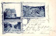 22044/ Foto AK, Bramburg b. Adelebsen, Basaltwerk S. Sander&Söhne, 1901