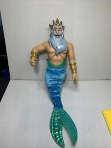 King Triton doll toy The Little Mermaid Simba Disney (2-24)