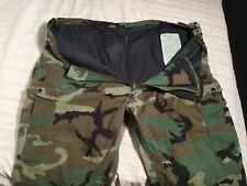 Vintage Military Woodland Cargo Pants