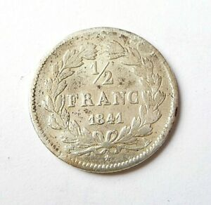 LOUIS-PHILIPPE  1/2 franc 1841 A