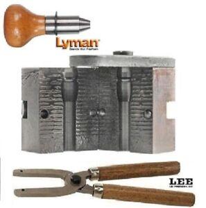 Lyman 1 Cavity Mold 9mm/38 Special .356 D. 124 gr. w/ Lee Handles 2650637+90005