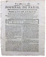 Marie Antoinette 1788 Visite Hôtel des Invalides Louis 16 Sombreuil Bois Acajou