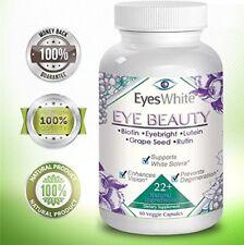 Dietary Supplement for White Sclera Enhances Vision Prevents Degeneration 60 Cap