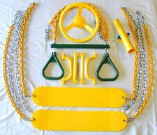 Swingset Swing Kit,belt swings,trapeze,play set accessories,Playground,PVC,66GYB