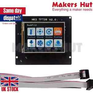 2.8 Inch MKS TFT28 V4 Full Color Touch Screen Support WIFI APP For 3D Printer