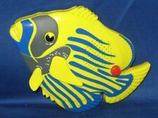 Yellow Angel Fish Shower Am/Fm Waterproof Radio - Works - with Emergency Alarm