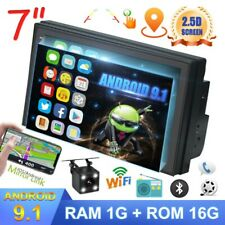 7 inch Android Car Stereo Radio Touch Screen Bluetooth GPS WIFI USB FM +Camera