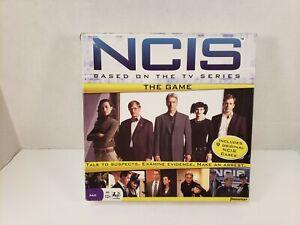 NCIS The Board Game Pressman 2010 #5350 Mystery Crime Drama Sealed Cards