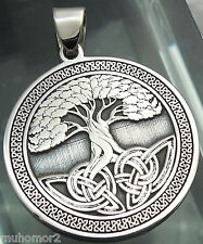 Pendant Celtic Tree of Life Amulet Jewelry 925 sterling silver (c428)