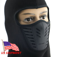 Men Women Balaclava Face Mask With Wind Hat Cap Winter Fleece Camping Mask