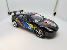 "New 5"" Kinsmart Toyota Celica Racing Decal Diecast Model Toy Car 1:34 Black"