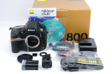 Nikon D800 Body + BOX + Accessories -Shutter count 16,378 -NearMint (Ni-351)