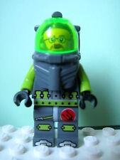 LEGO Minifig atl009 @@ Atlantis Diver 6 - Jeff Fisher 8075 8077