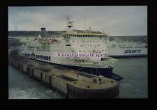fq0104 - Belgian Oostende-Dover Ferry - Prins Filip c1992 - photograph 6x4