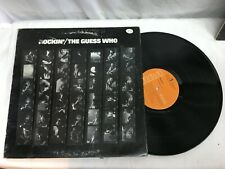 THE GUESS WHO ROCKIN LP 1972 RECORD RCA Very Good Free Shipping