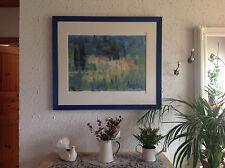 Ralf Westphal Mittagshitze / Toscana Poster Kunstdruck Bild 80x60cm Kunstkarte