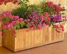 Teak Planter 36 inches long x 16 inches wide x 16 inches tall