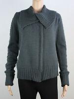NEW Firetrap womens Size L XL wrap over crop knit cardigan
