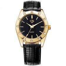 Luxus Armbanduhr Cubic Zirkonia weiß Damenuhr Watch U3033