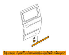 Oem Set of Molding Front Window 1xRight Side,1x Left Side.Honda Jdm DELSOL
