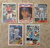 Larry Parrish Baseball Cards. Texas Rangers