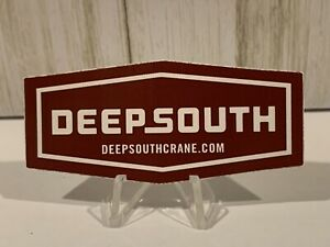 DEEP SOUTH Crane & Rigging Equipment Hardhat Operating Engineers Sticker B