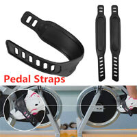 1 Pair Exercise Bike Pedal Straps for Exercise Bike Stationary Cycle Home or Gym