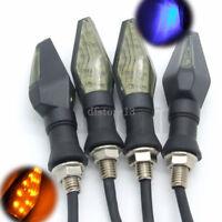4x 13 LED Lampe Clignotants Feu Ampoule Indicateur Signal Eclairage + Bleu Moto