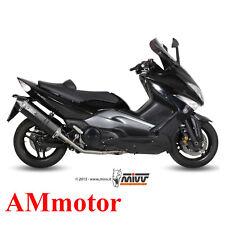 Scarico Completo Mivv Yamaha T-Max 500 2008 08 Terminale Speed Edge Black Moto