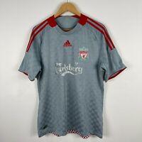 Adidas Liverpool FC Football Jersey Mens Medium 2008 Short Sleeve Shirt