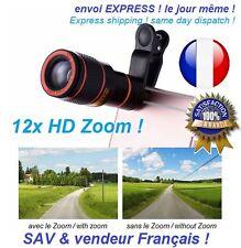 12X Transform Optical Zoom HD Telescope Camera Lens For Universal Mobile Phone