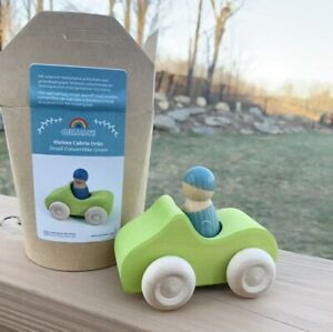 New Grimm's Small Green Convertible Wooden Toy