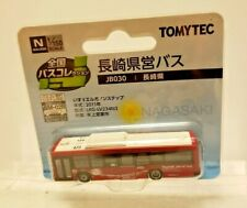 TOMYTEC 1/150 THE BUS COLLECTION JB030 NAGASAKI ELECTRIC BUS TOY, DETAILED!