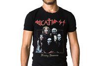 Death SS Heavy Demons 1991 Group Photo Album Cover T-Shirt