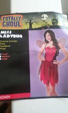 Womens Lady Bug Costume Size S