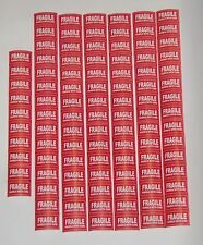100 pcs1.37/0.78 inc FRAGILE Stickers Handle with Care Stickers Shipping Labels
