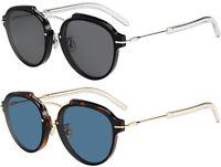 Dior Eclat Women's Round Designer Sunglasses - Made in Italy