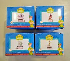 Set of 4 Midwest Disney Peter Pan Phb Hinged Boxes w/ Wendy Hook & the Croc New