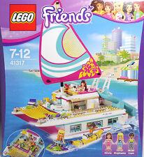 Lego Friends 41317 catamarán barco bananaboot Olivia Stephanie Liam delfines nuevo