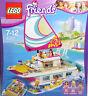 LEGO Friends 41317 Katamaran Schiff BananaBoot Olivia Stephanie Liam Delfine NEU