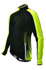 Cycling Jacket Funkier Tacona Wj-1324 Ladies Windstopper Black/yellow Medium