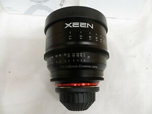 Rokinon XeenXN35-PL 35mm T1.5 Professional Cine Lens for PL Mount Pro Video...
