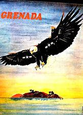 GRENADA INVASION OSPAAAL poster RAFAEL ENRIQUEZ Scarce Collectable 1984 ORIGINAL