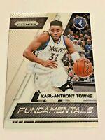 2017-18 Panini Prizm Basketball Fundamentals - Karl-Anthony Towns - Timberwolves