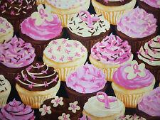 Liquidazione FQ Bright Fairy CUPCAKES CANDY Cioccolato Rosa Nastro Tessuto CIBO