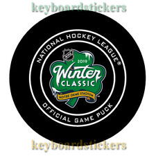 2019 NHL Winter Classic Hockey Game Puck BOSTON BRUINS VS CHICAGO BLACKHAWKS